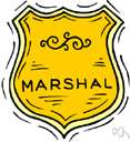 marshalship - the post of marshall
