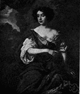 Gywn - English comedienne and mistress of Charles II (1650-1687)