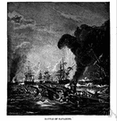 battle of Navarino - a decisive naval battle in the War of Greek Independence (1827)