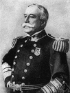 Admiral Dewey - a United States naval officer remembered for his victory at Manila Bay in the Spanish-American War