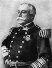 George Dewey - a United States naval officer remembered for his victory at Manila Bay in the Spanish-American War