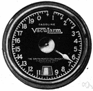 gas gage - gauge that indicates the amount of gasoline left in the gasoline tank of a vehicle