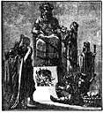 Moloch - god of the Canaanites and Phoenicians to whom parents sacrificed their children