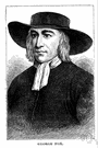fox - English religious leader who founded the Society of Friends (1624-1691)