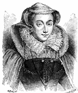 Mary Queen of Scots - queen of Scotland from 1542 to 1567