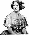 Jenny Lind - Swedish soprano who toured the United States under the management of P. T. Barnum (1820-1887)