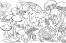 genus Cortinarius - the largest genus in the Agaricales