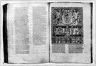 spread head - two facing pages of a book or other publication