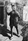 Micawber - fictional character created by Charles Dickens