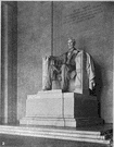 french - United States sculptor who created the seated marble figure of Abraham Lincoln in the Lincoln Memorial in Washington D.C. (1850-1931)