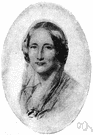Elizabeth Gaskell - English writer who is remembered for her biography of Charlotte Bronte (1810-1865)