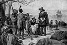 Minnewit - Dutch colonist who bought Manhattan from the Native Americans for the equivalent of $24 (1580-1638)