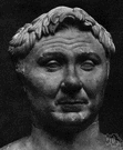 Pompey - Roman general and statesman who quarrelled with Caesar and fled to Egypt where he was murdered (106-48 BC)