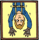 Harness - a support consisting of an arrangement of straps for holding something to the body (especially one supporting a person suspended from a parachute)