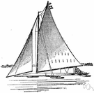 iceboat - a ship with a reinforced bow to break up ice and keep channels open for navigation