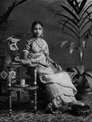 Tamil - a member of the mixed Dravidian and Caucasian people of southern India and Sri Lanka