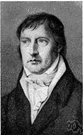 Hegel - German philosopher whose three stage process of dialectical reasoning was adopted by Karl Marx (1770-1831)