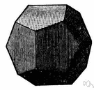dodecahedron - any polyhedron having twelve plane faces