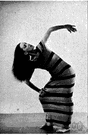 Martha Graham - United States dancer and choreographer whose work was noted for its austerity and technical rigor (1893-1991)