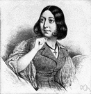 Baroness Dudevant - French writer known for works concerning women's rights and independence (1804-1876)