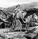 Samaritan - a member of the people inhabiting Samaria in biblical times