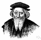 Cabot - son of John Cabot who was born in Italy and who led an English expedition in search of the Northwest Passage and a Spanish expedition that explored the La Plata region of Brazil