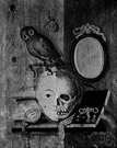 memento mori - a reminder (as a death's head) of your mortality