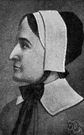 Anne Hutchinson - American colonist (born in England) who was banished from Boston for her religious views (1591-1643)