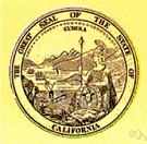 Golden State - a state in the western United States on the Pacific