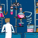 laboratory - a workplace for the conduct of scientific research