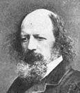 Alfred Lord Tennyson - Englishman and Victorian poet (1809-1892)