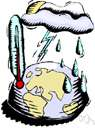 meteorology - the earth science dealing with phenomena of the atmosphere (especially weather)