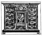Buhl - an inlaid furniture decoration