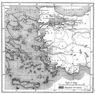 Lycia - an ancient region on the coast of southwest Asia Minor
