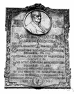 plaque - a memorial made of brass