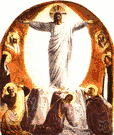 Transfiguration of Jesus - (New Testament) the sudden emanation of radiance from the person of Jesus