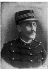 Dreyfus - French army officer of Jewish descent whose false imprisonment for treason in 1894 raised issues of anti-Semitism that dominated French politics until his release in 1906 (1859-1935)
