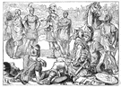 Zama - the battle in 202 BC in which Scipio decisively defeated Hannibal at the end of the second Punic War
