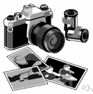 portrait lens - a compound camera lens with a relatively high aperture