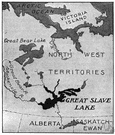 Great Slave Lake - a lake in the Northwest Territories in northwestern Canada