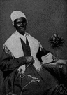 Sojourner Truth - United States abolitionist and feminist who was freed from slavery and became a leading advocate of the abolition of slavery and for the rights of women (1797-1883)