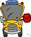 school bus - a bus used to transport children to or from school