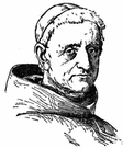 Franciscan - a Roman Catholic friar wearing the grey habit of the Franciscan order