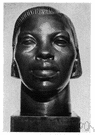 Negress - a Black woman or girl