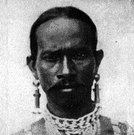 Dravidian - a member of one of the aboriginal races of India (pushed south by Caucasians and now mixed with them)