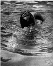 Gertrude Ederle - United States swimmer who in 1926 became the first woman to swim the English Channel (1906-2003)