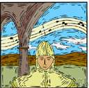 church mode - any of a system of modes used in Gregorian chants up until 1600