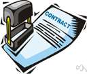 yellow-dog contract - a labor contract (now illegal) whereby the employee agrees not to join a trade union