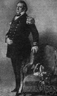 Perry - United States admiral who led a naval expedition to Japan and signed a treaty in 1854 opening up trade relations between United States and Japan