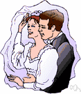 wedlock - the state of being a married couple voluntarily joined for life (or until divorce)